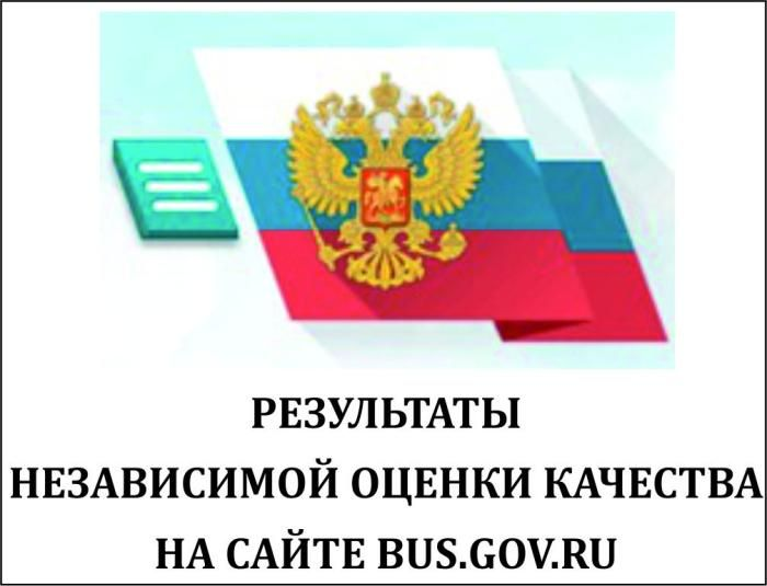 Карточка образовательного учреждения на сайте bus.gov.ru